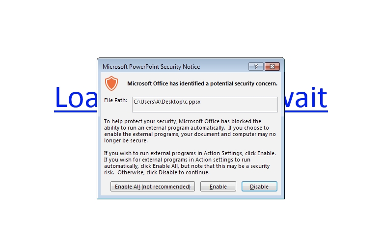 Какие файлы запускает powerpoint